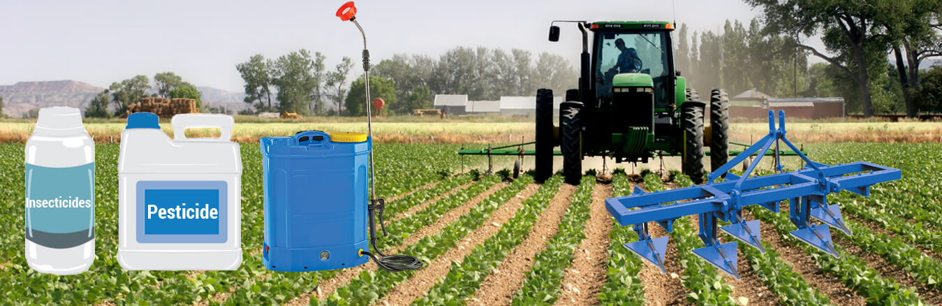 Agriculture pesticide and machinery manufacturers